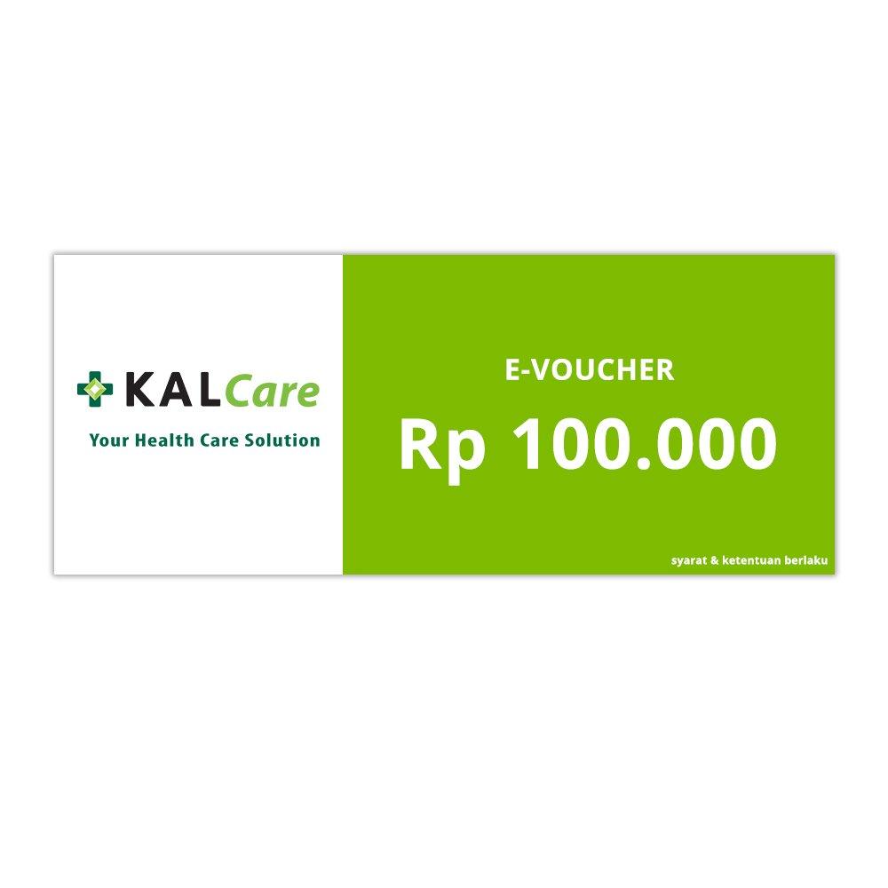 E-VOUCHER KALCARE.COM RP.100.000