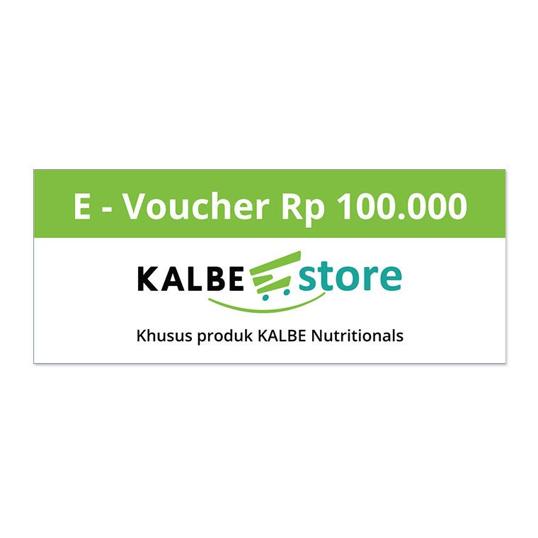 KALBE E-STORE EVOUCHER RP 100.000