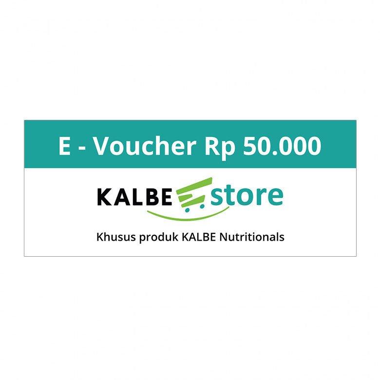E-VOUCHER KALBE STORE RP.50.000