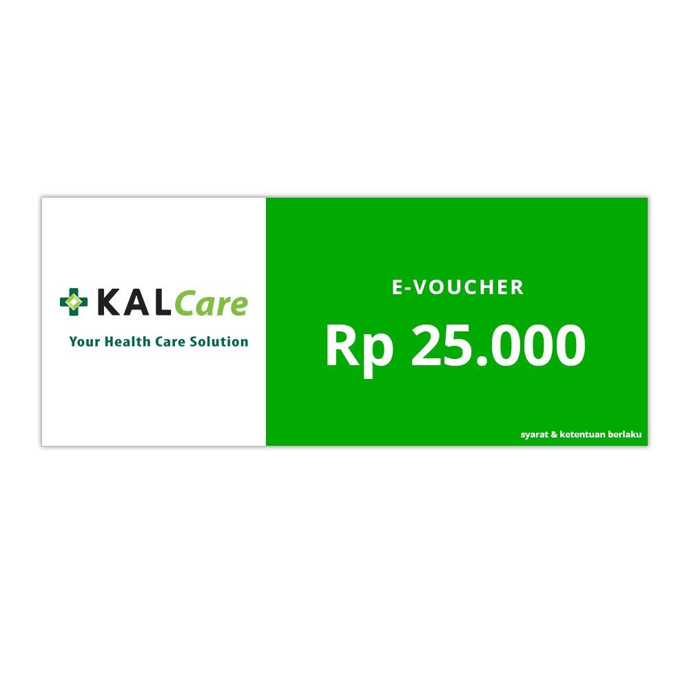 E-VOUCHER KALCARE.COM RP.25.000